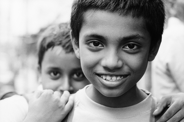 Boy With White Teeth @ India