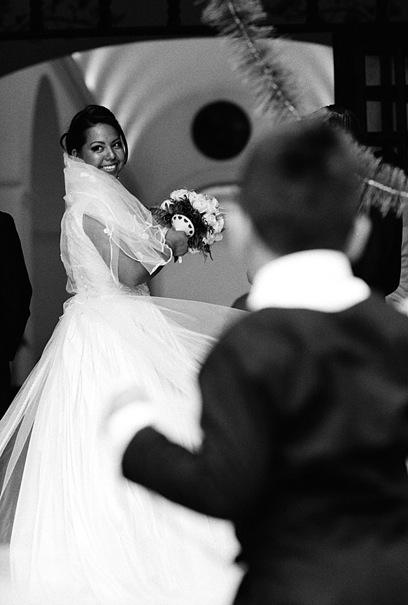 Bride And Boy @ Mexico