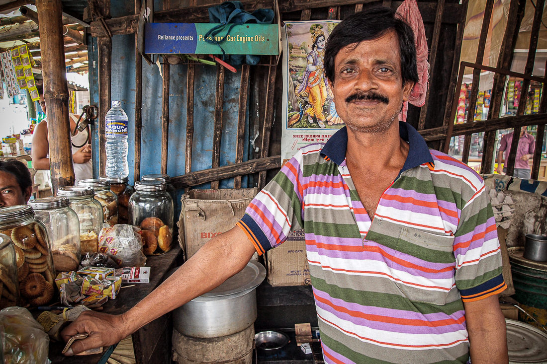 Master of chai stand