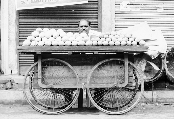 Man Behind The Wagon (India)