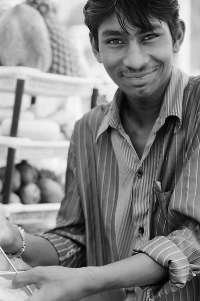 Smile At A Fruit Shop @ India