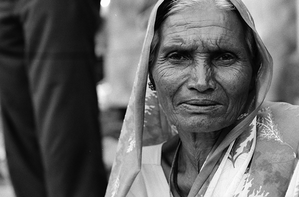 Woman Wearing A Veil (India)