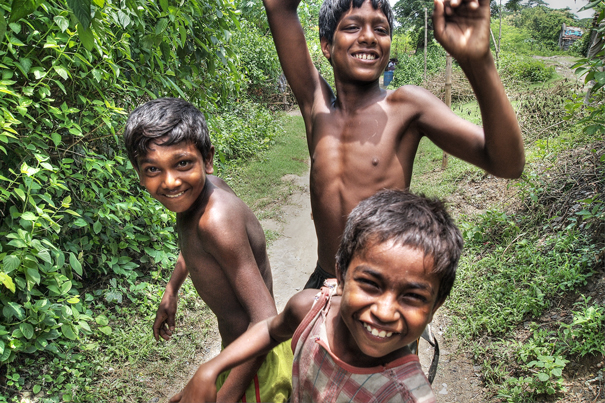 Three Active Boys (India)