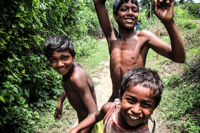 Three Active Boys (India)