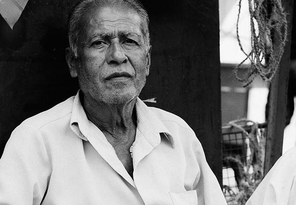 Old Man Without A Mustache (India)