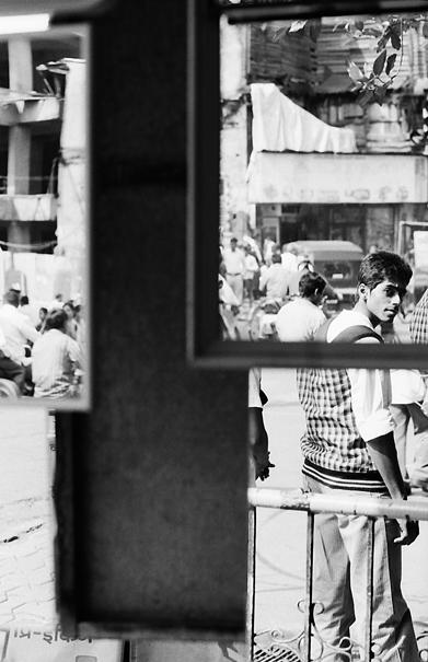 鏡の中の男 @ インド