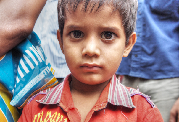 Boy's Eyes Are Big @ India
