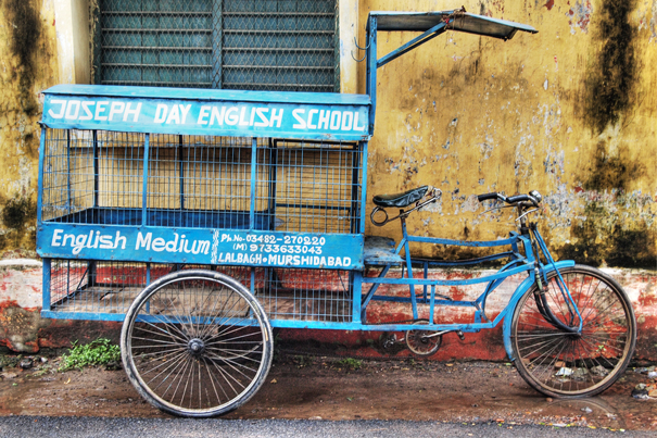 School Tricycle (India)