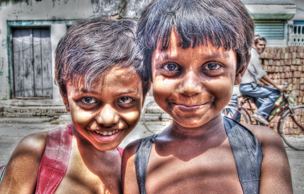 Two Half-naked Boys @ India