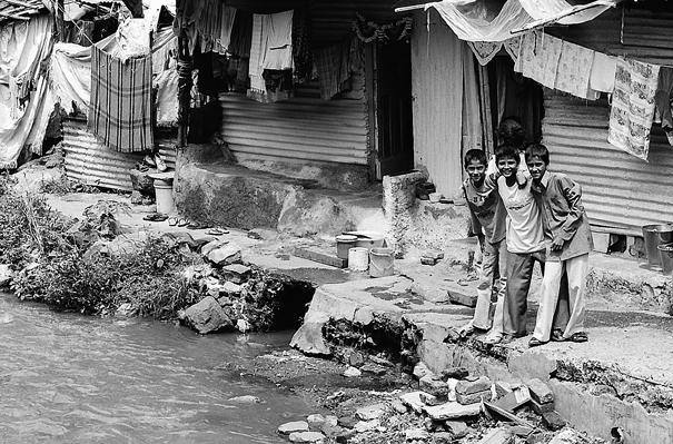 Boys Beside The River (India)