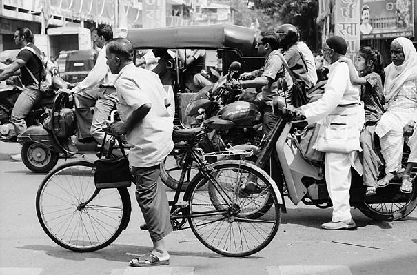 Crowded Traffic (India)