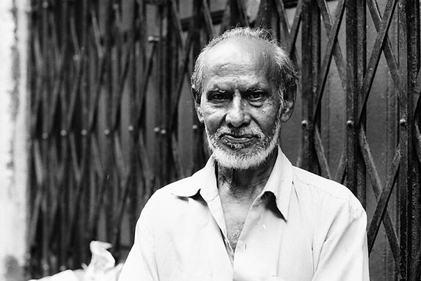 Man With A Gray Beard (India)