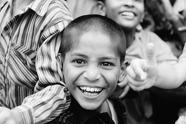 Good-humored Boy (India)