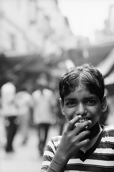 Boy In The Street (India)