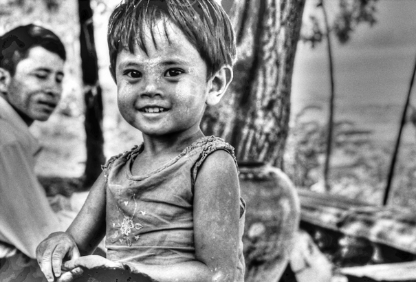 Smile Of A Moon-faced Girl (Myanmar)
