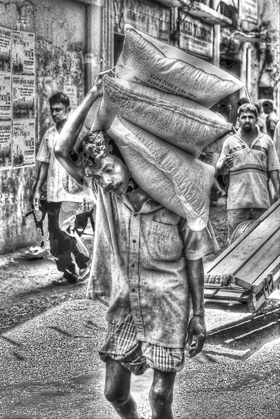 Three Burdens On His Shoulder @ Sri Lanka