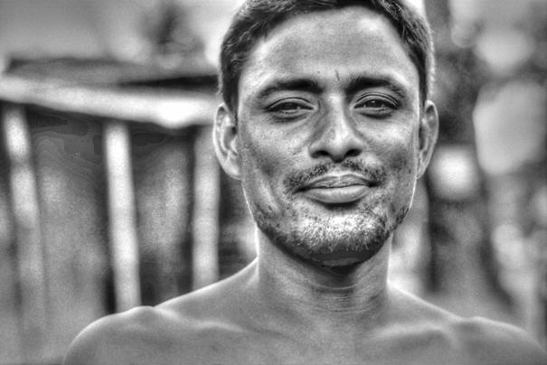 Man Narrowed His Eyes (Bangladesh)