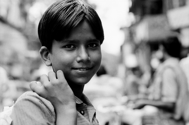 Easy Smile Of A Youngster @ India