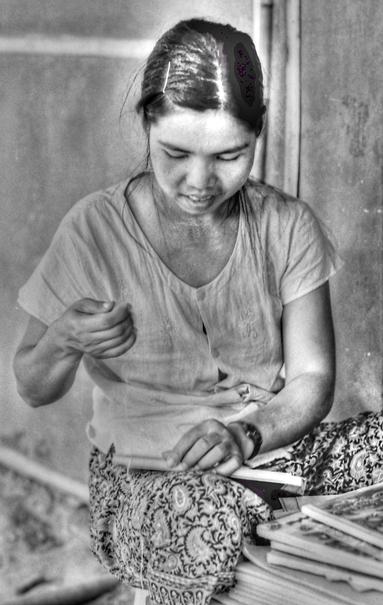 Binding Books @ Myanmar