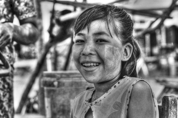 Girl Was Laughing (Myanmar)