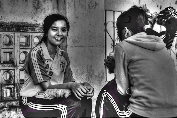 Smiling Girl In A Cafe (Vietnam)