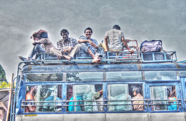 People On The Bus @ India