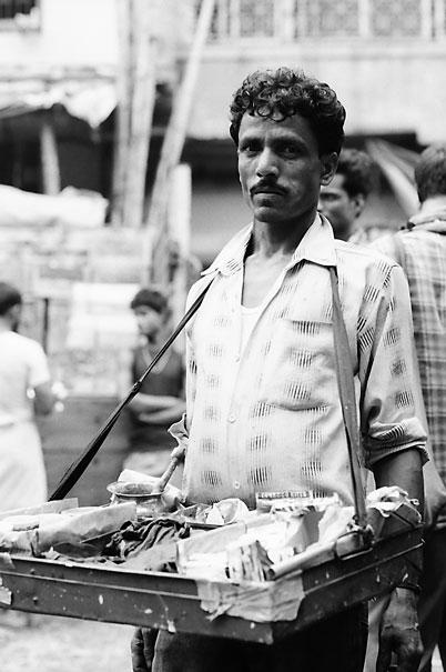 Man Selling Tobaccos (India)
