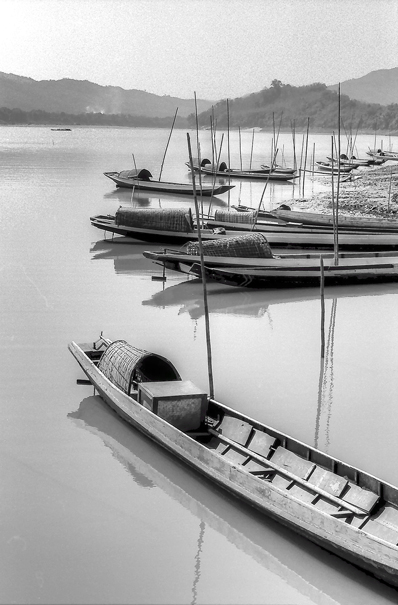 Boats On The Mekong River @ Laos