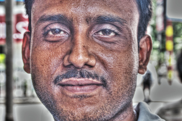 Face Of A Man @ India