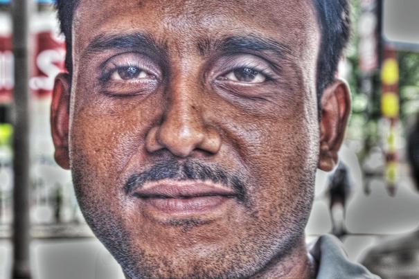 Face Of A Man @ India