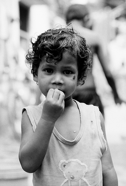Little Stunned Girl (India)