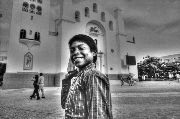 Smile Of A Shoeshine Boy @ Mexico