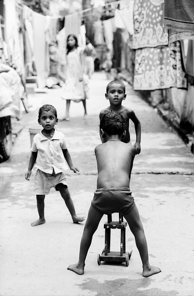 Boys Playing In The Lane @ India