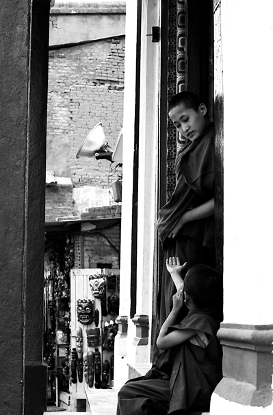 Two Little Monks (Nepal)