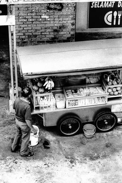 Man At A Food Stall (Malaysia)