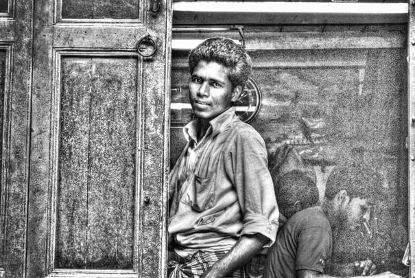 Man Behind The Door (India)