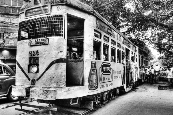 Tram In Kolkata (India)
