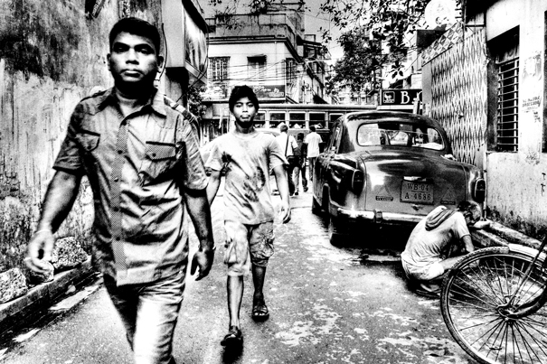 Men In The Lane @ India