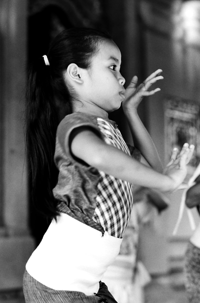 Girl Was Dancing @ Indonesia