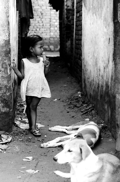 Dogs And An Anxious Girl (India)