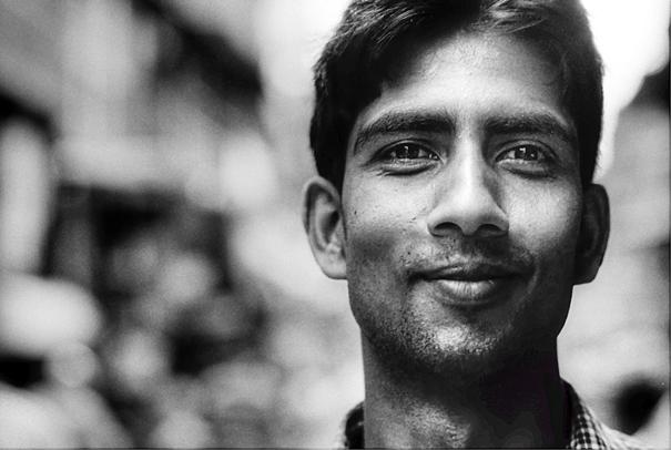 Man Smiled Faintly (Nepal)