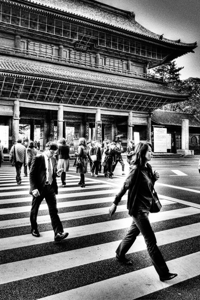 People In Front Of The Gate (Tokyo)