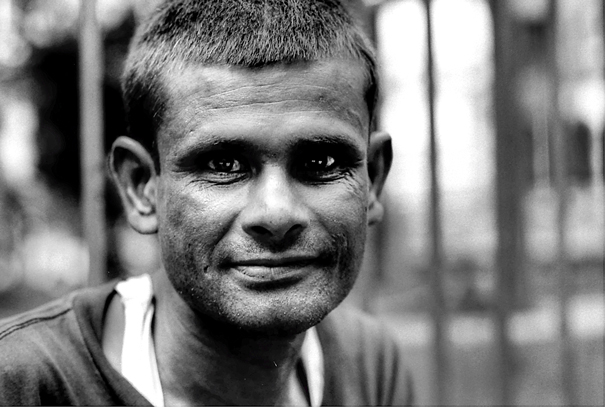 Eyes Of A Man With Short Hair (Nepal)