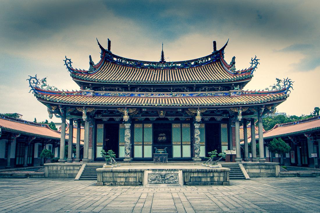 閑散としていた孔子廟