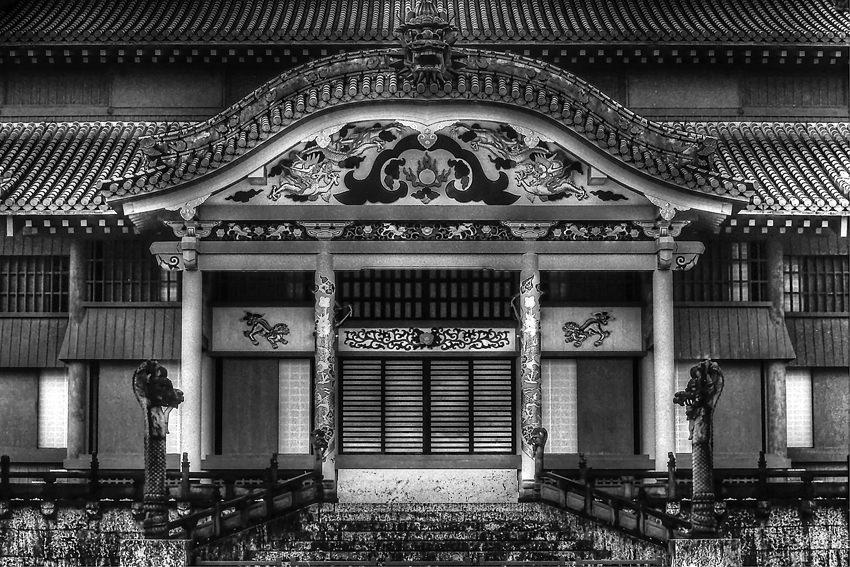 Main hall of Shuri castle