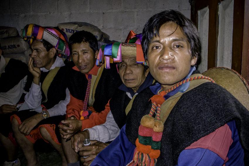 Men wearing ethnic costume