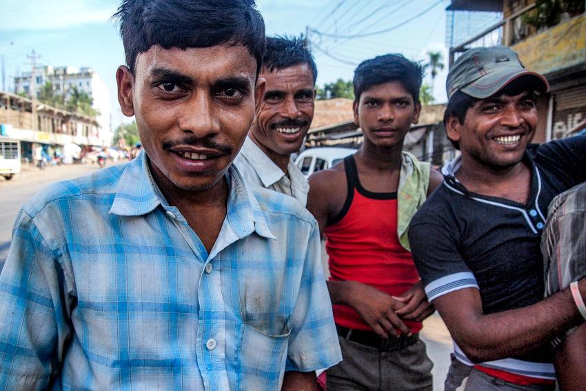 4人の労働者たち