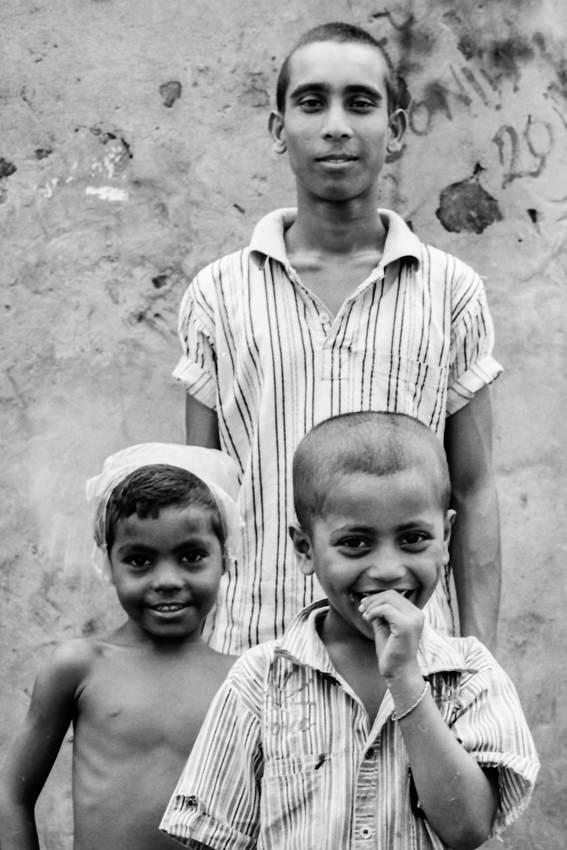 三人の男の子