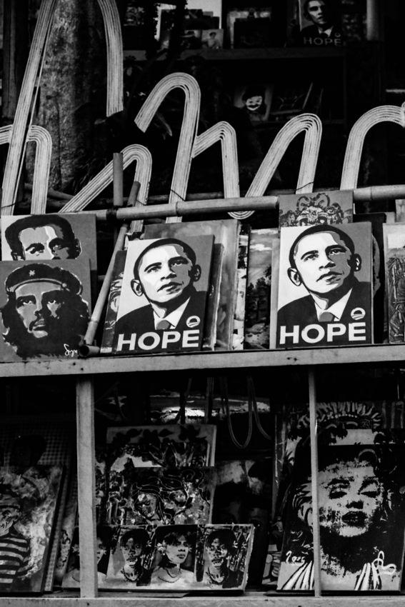 バラク・オバマ大統領の絵