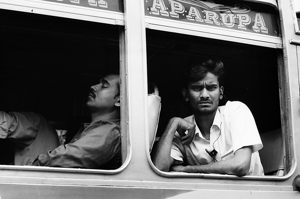 Sleeping Man And Seeing Man @ India